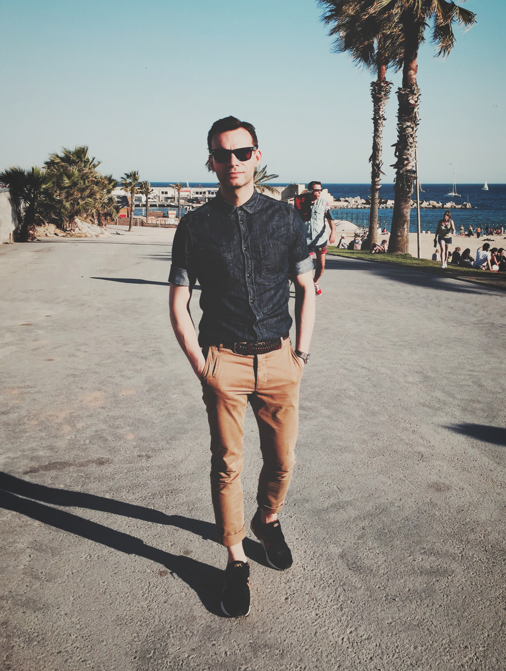 Casual snob Bartosz Gajec Barcelona All Saints