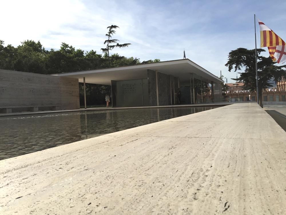 Casual snob Barcelona Van Der Rohe Pavilion
