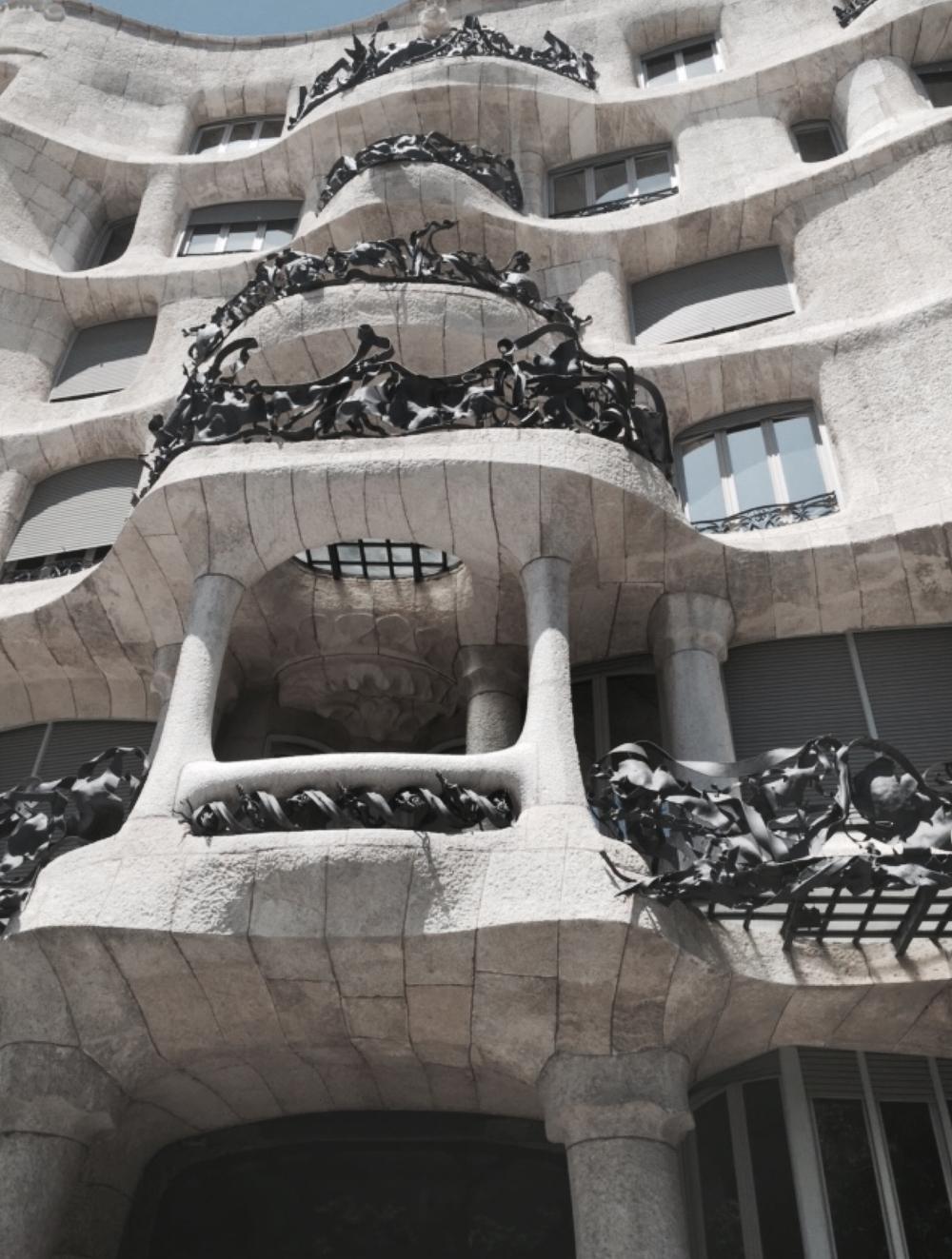 Casual snob Barcelona Gaudi