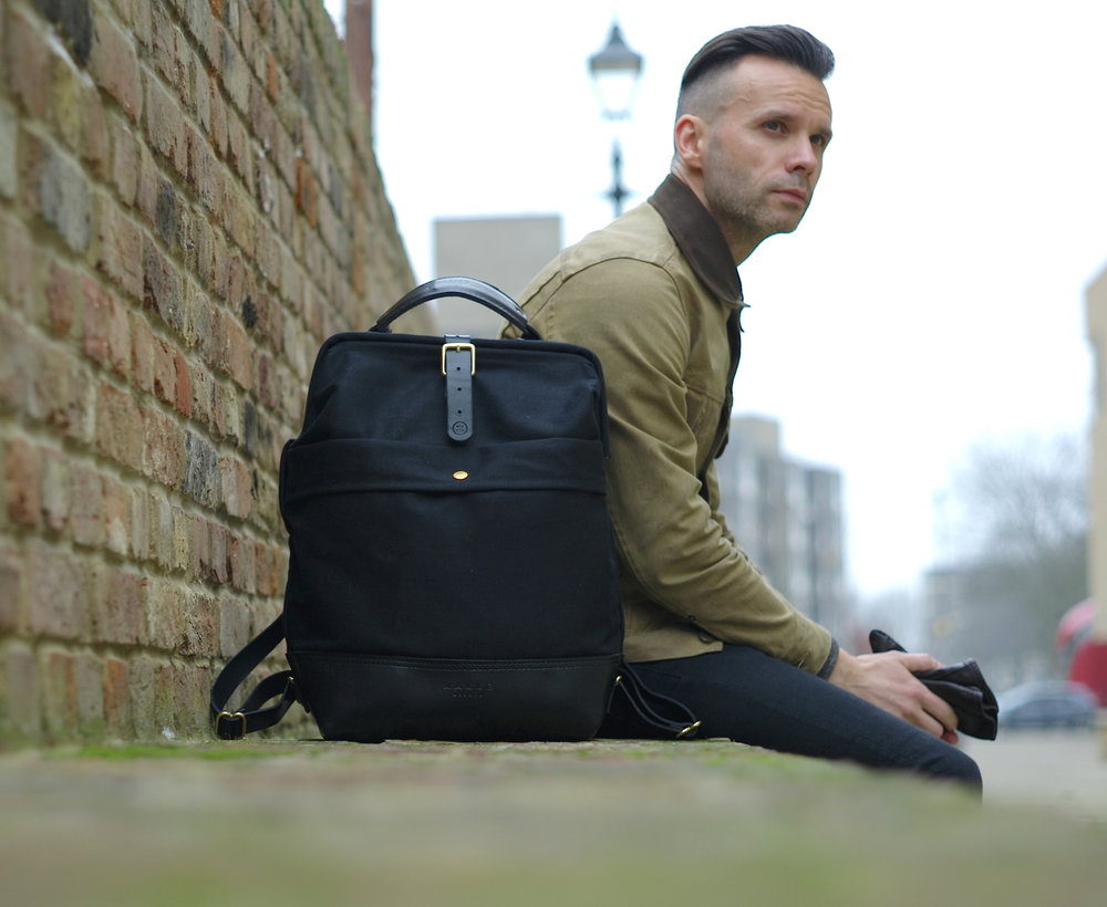 Casual snob Bartosz Gajec John Hybrid Backpack.JPG