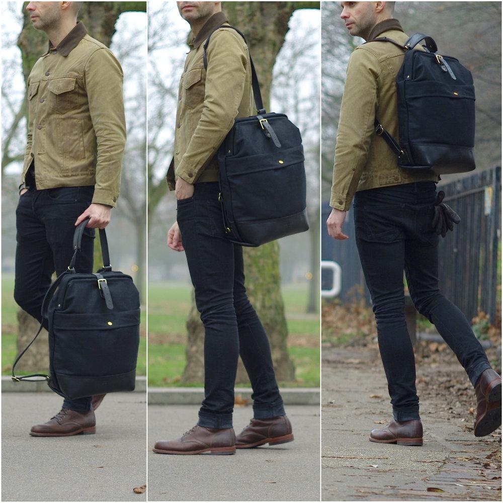 Casual snob John Hybrid Backpack Bartosz gajec 3.JPG