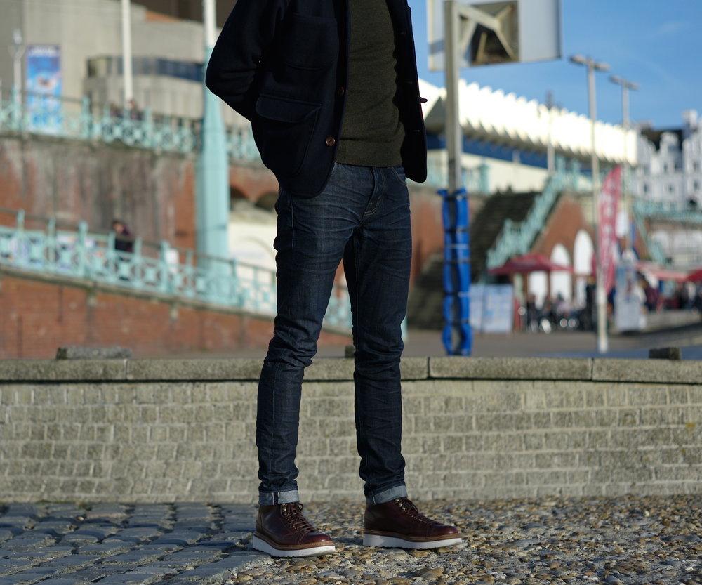 Bartosz Gajec - Casual snob - Universal Works Melton Jacket Grenson Andy Boots 4.JPG
