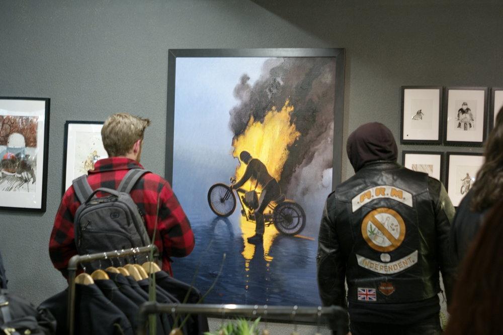 Casual snob - Nicholas Coleman Exhibition at Bolt 1.JPG
