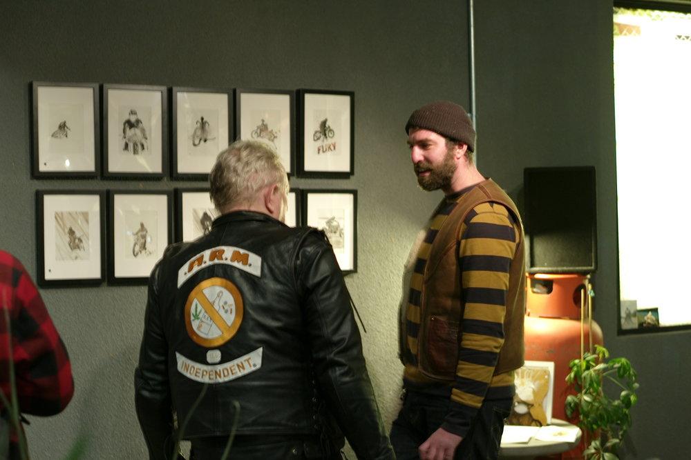 Casual snob - Nicholas Coleman Exhibition at Bolt 6.JPG