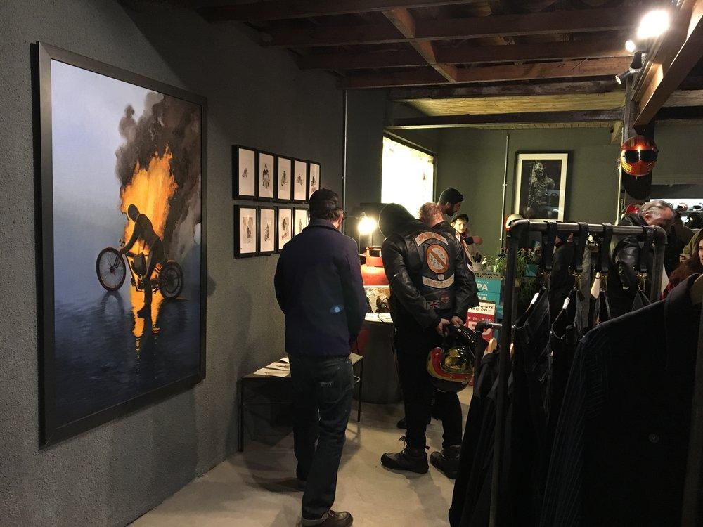 Casual snob - Nicholas Coleman Exhibition at Bolt 22.JPG