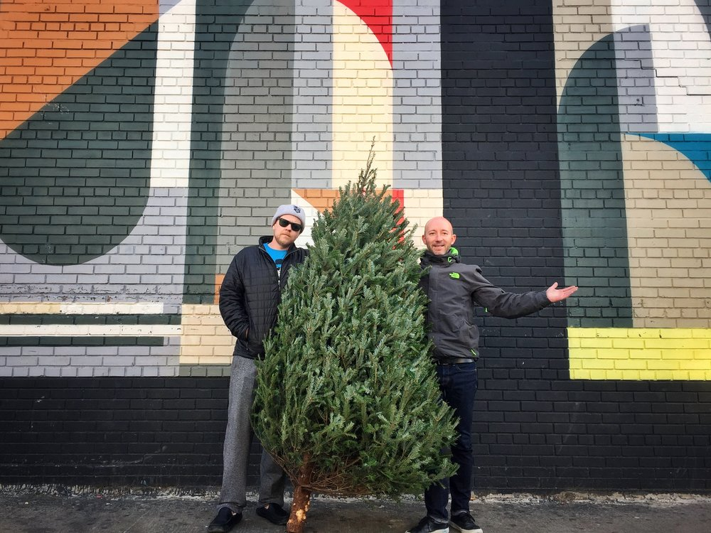 Ben and Zack and a Christmas Tree