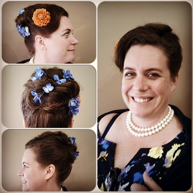 50's #wedding #hairstyle by Tony Ferri!