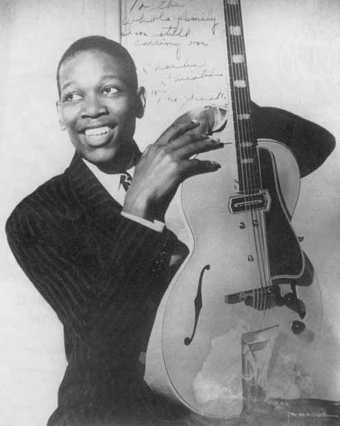 Charlie Christian, one of my guitar heroes.