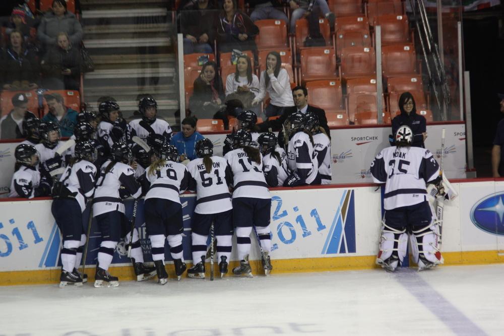 Canada Games 2011 - Team NS bench 01.JPG