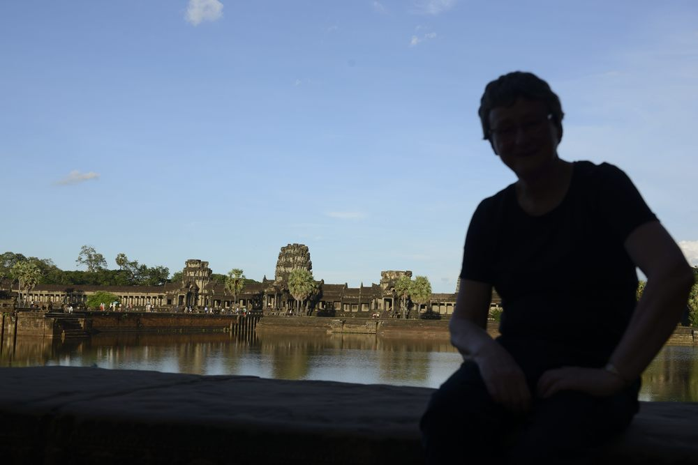 Mum finally made it to Angkor Wat