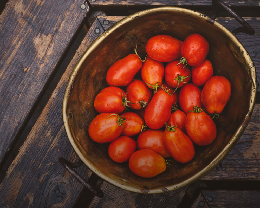 Full Belly Farms is one of the local farms where Sprig sources beautiful, organic tomatoes like the ones pictured.
