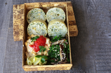 Vegetarian Bento Box of Hodo Soy Yuba