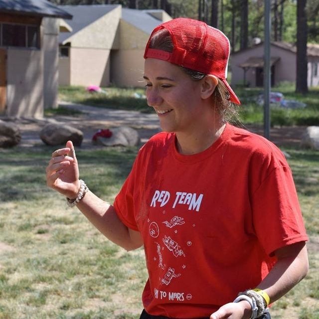 """Troy Camp has shown me that mentorship is mutual. From clowning around with water guns to having serious talks about the future, my experiences with the kids have taught me more than I have been able to teach them."" - Julia ""Curly Q"" Hart - - Class of 2019"