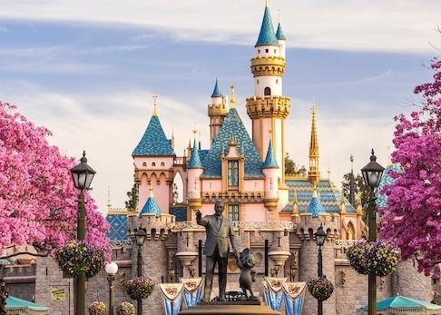 4 One-Day Park Hopper Passes to Disneyland
