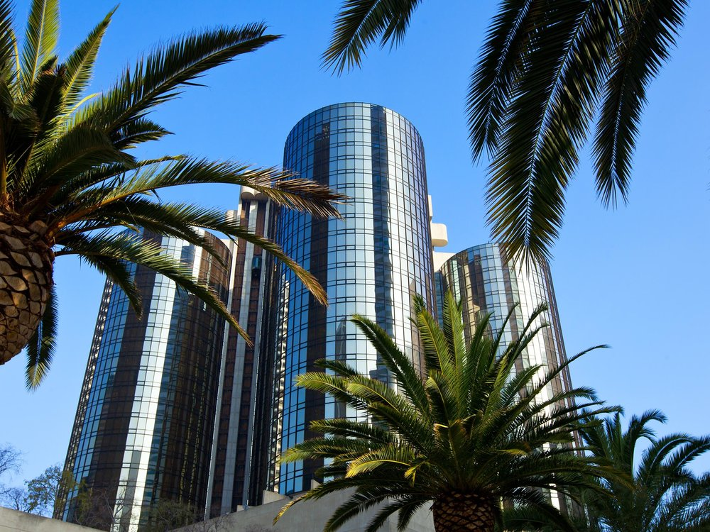 Night stay at the Westin Bonaventure Hotel in Downtown Los Angeles