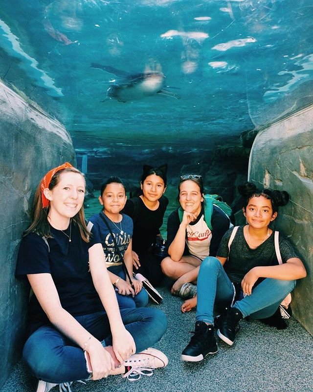 Just keep swimming, just keep swimming, just keep swimming swimming swimming! Earlier this year Troy Camp ventured to the aquarium - a trip made possible by the Sunstate Foundation! #ClapClapYouRock