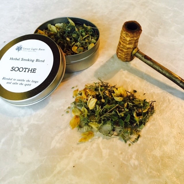 Healing Herbs Soothe Herbal Smoking Blend Herb Shop