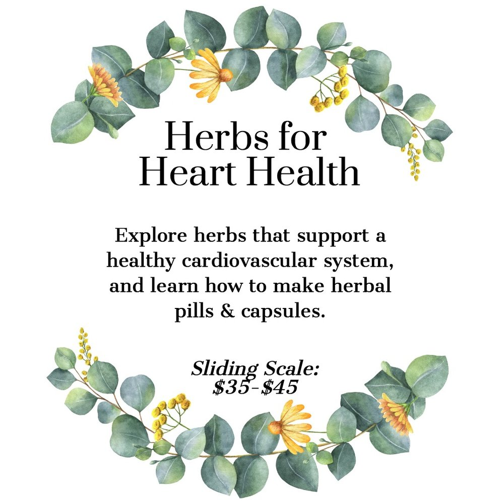 Herbs for Heart Health