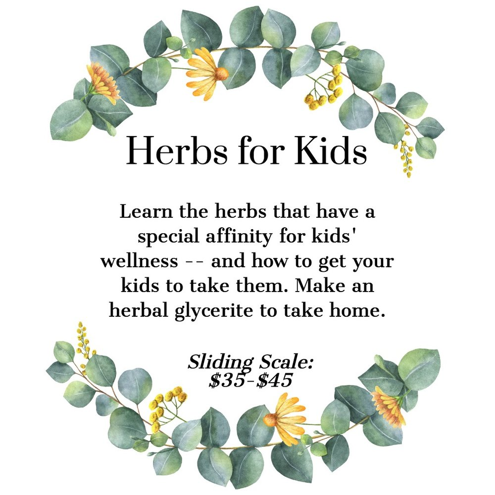 Herbs for Kids Children's Health
