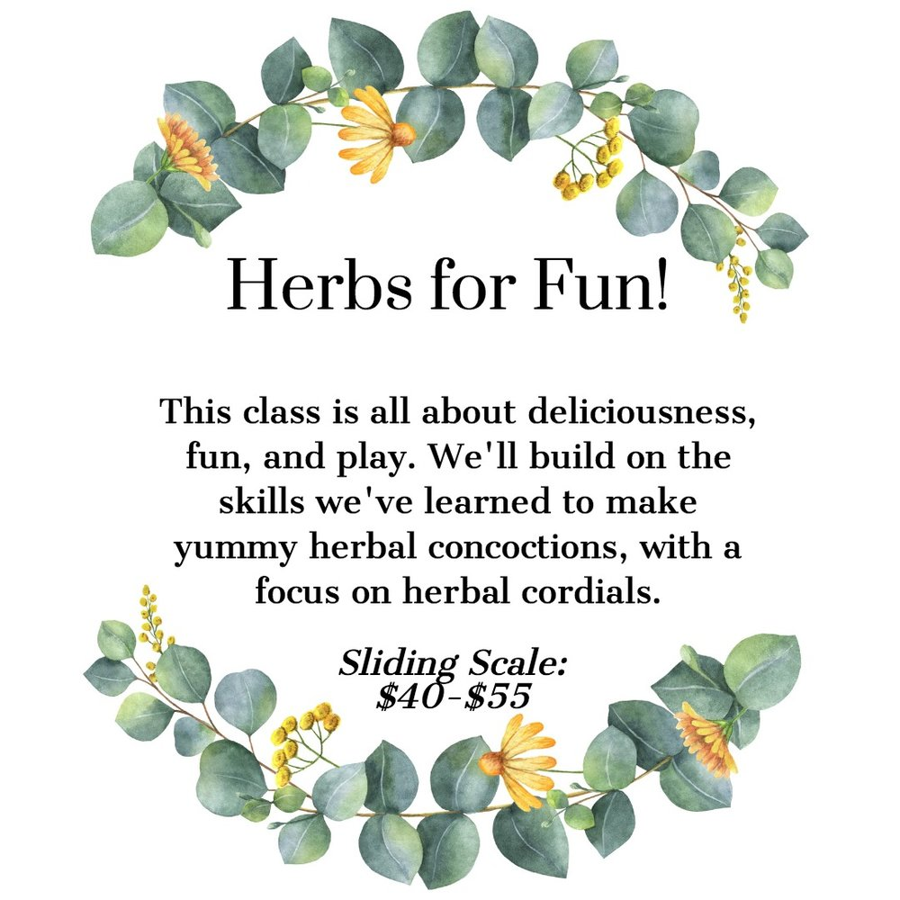 Herbs for Fun Play Pleasure