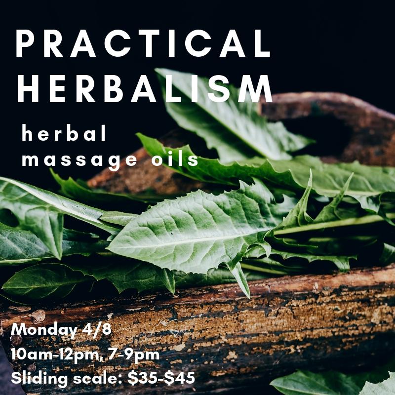 herbal massage oils