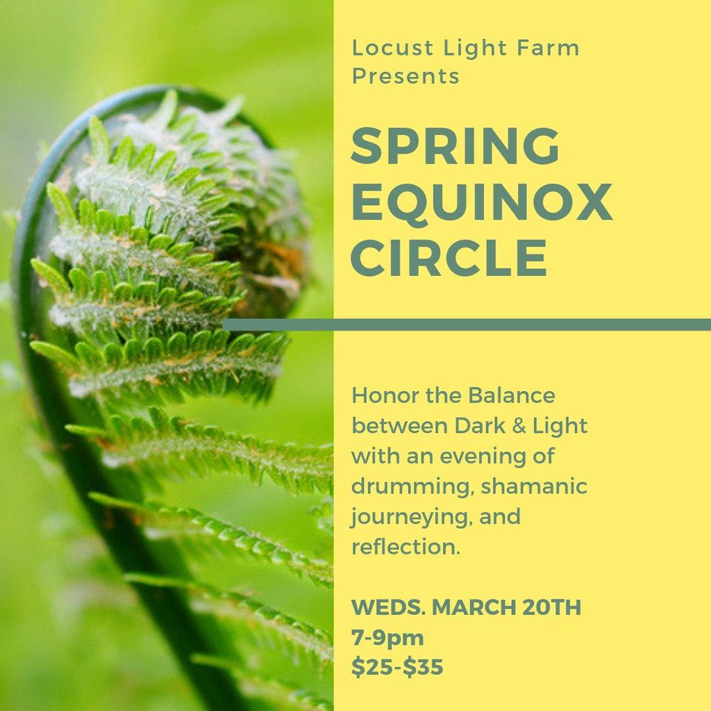 spring equinox circle
