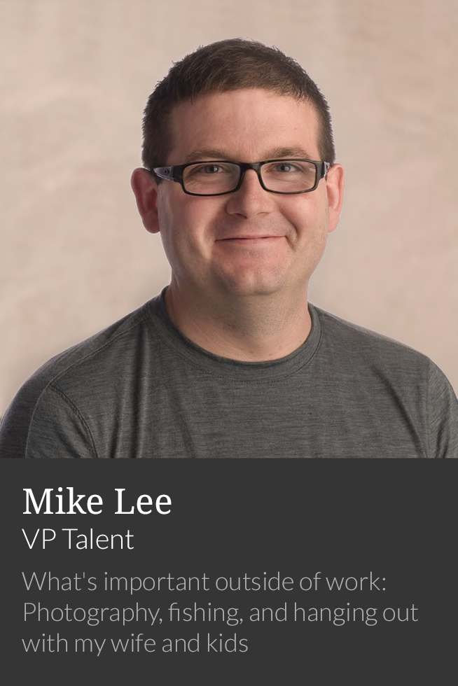 Mike Lee, VP Talent