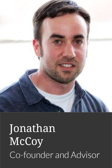 Jonathan McCoy, Co-founder and Advisor