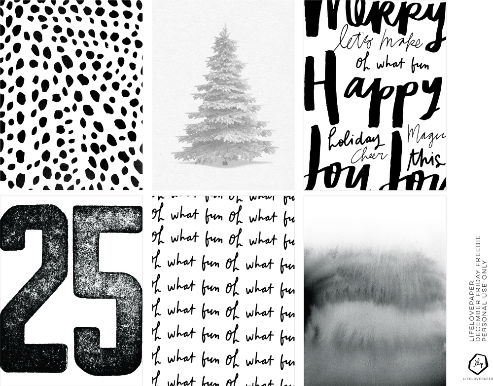 LLP blog | December Friyay Freebie