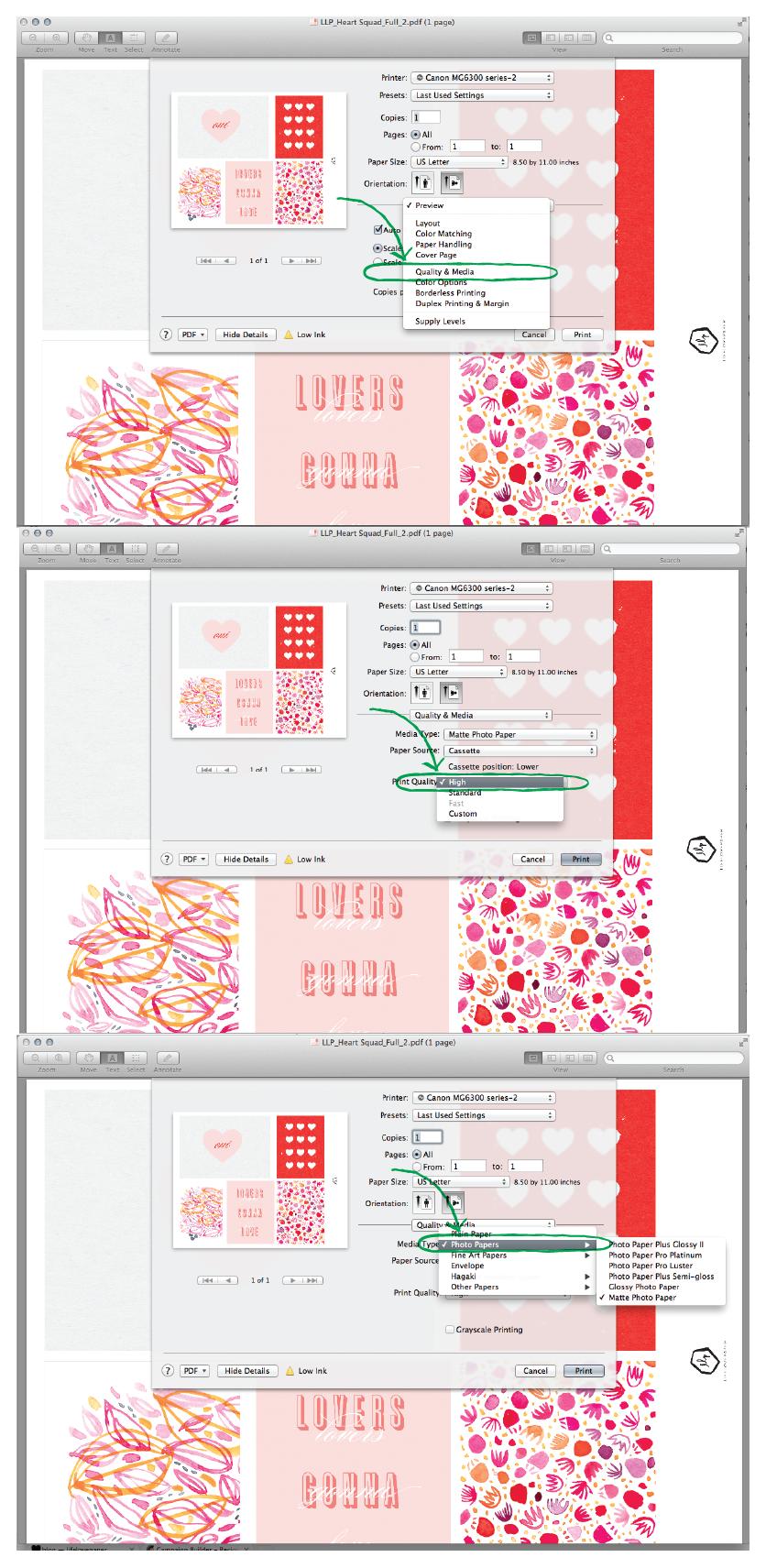 LLP blog | how I print at home