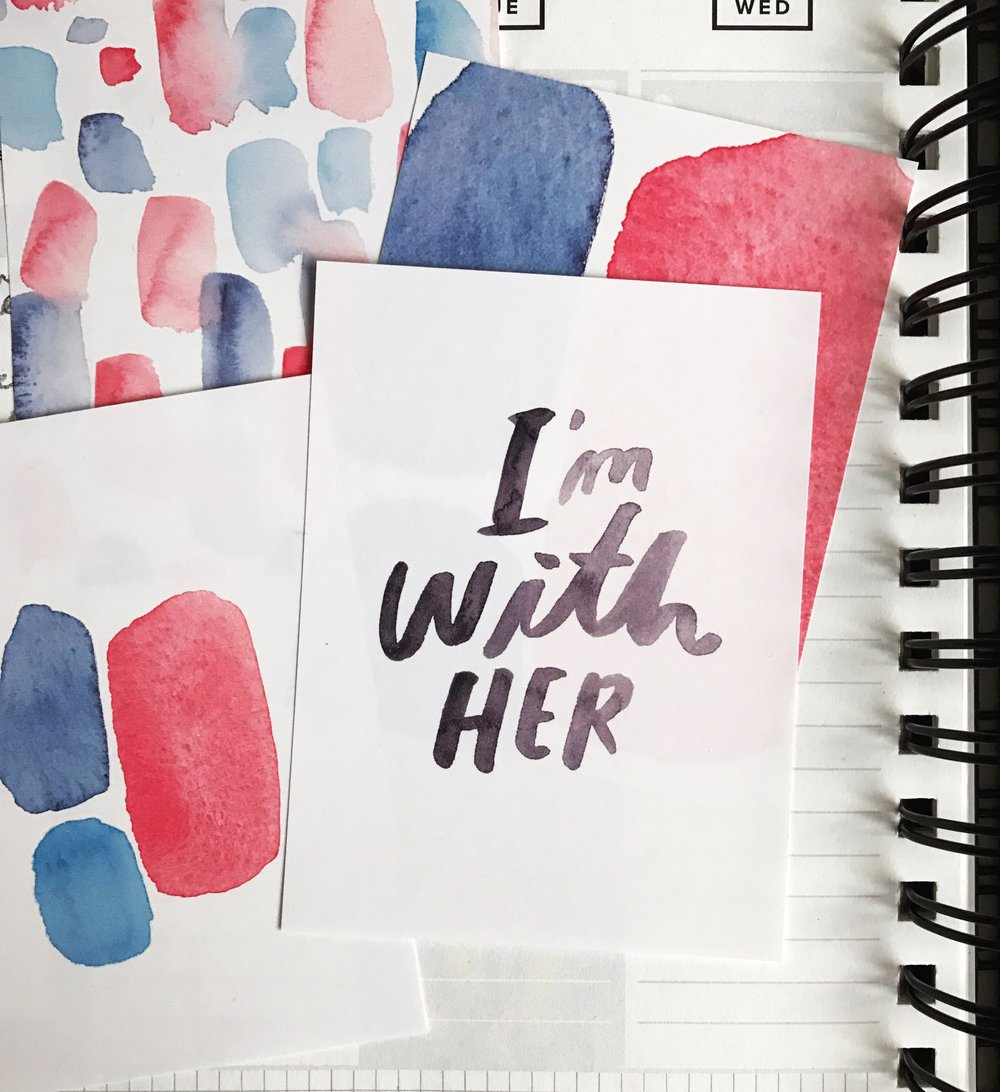 LLP I'm With Her Free Printable