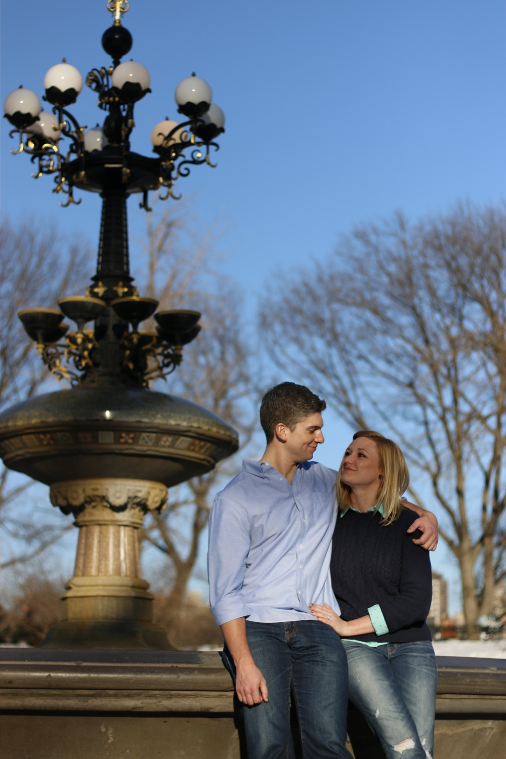 Central Park Engagement Photography
