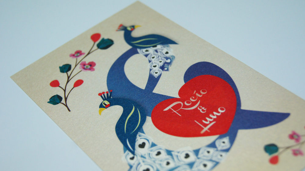 Wedding Card    Packaging/ Illustration