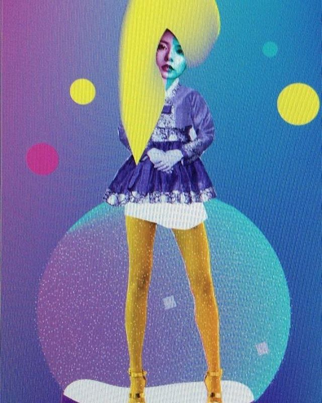 Glitch hanbok #magazineillustration #snowball #bubble #fashiondesign #fashionillustration #그래픽디자인 #magazineillustration #일러스트 #패션일러스트레이션 #패션일러스트 #귀엽다 #ilustración #illustration #poster #일러스트레이션 #디자인 #그림#포스터 #핑크  #natural #lovely #collage #moda #ilustraciónmoda #fluor #fluorescente #belleza #한복 #hanbok #sexycurves #glitch