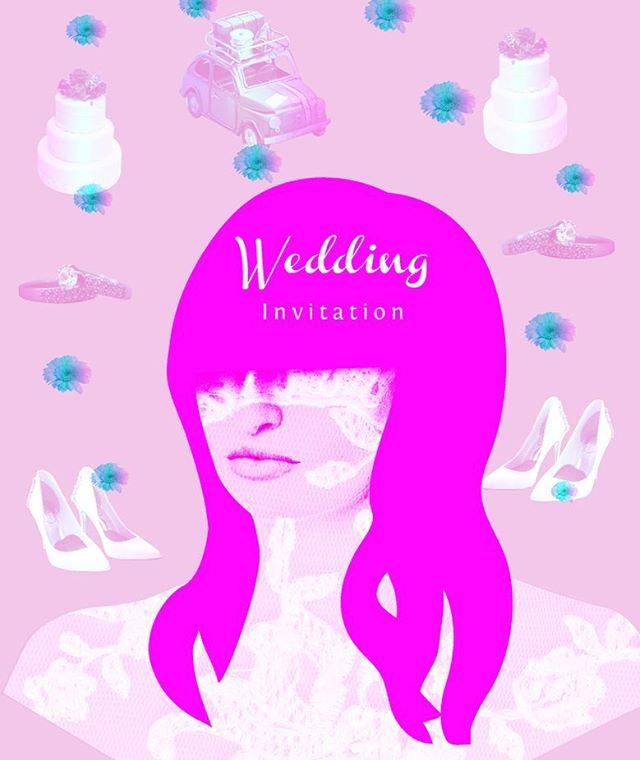 Wedding collage ad #청첩장 #weddinginvitation #결혼식 #청첩장디자인 #invitacionesdeboda #anuncio #ad #services