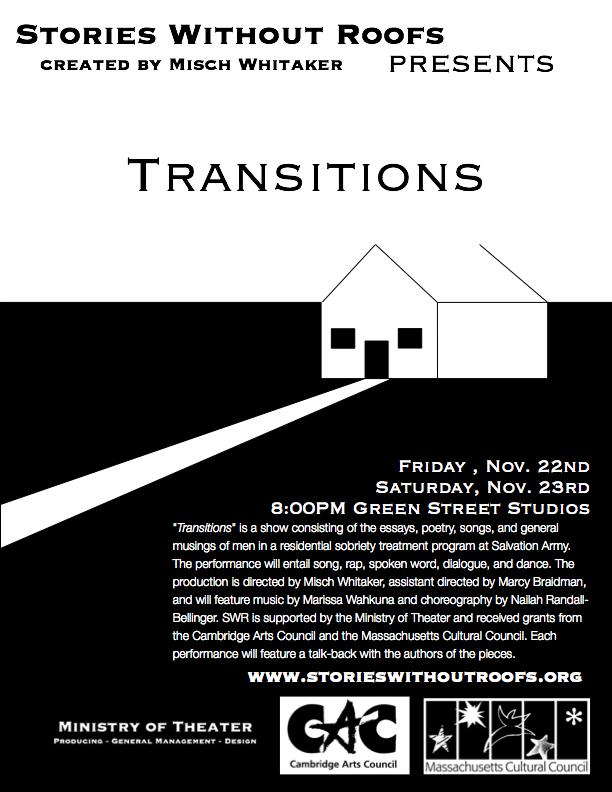 """""""Transitions"""" November 2013"""