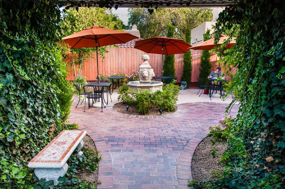 Enjoy our beautiful patio