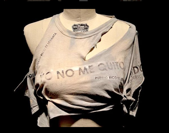 "This is an image from the Instagram account What Was Left. The text, ""Yo No Me Quito"" means I do not quit."