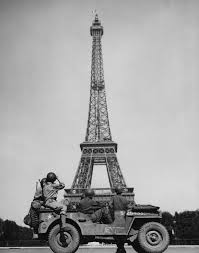 The iconic Eiffel Tower of Paris