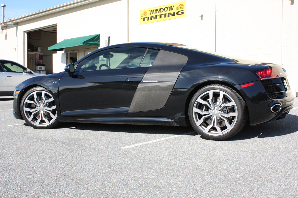 Basic Audi R8 with 20% Tint. NICE!!.JPG