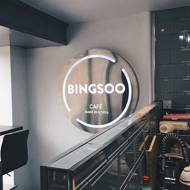 Proper Korean Bingsoo.런던에서 짜장면 먹을 수 있는 곳이 별로 없다. 그리고 빙수도.🍧#london #bingsoo #dessert @bingsoocafe