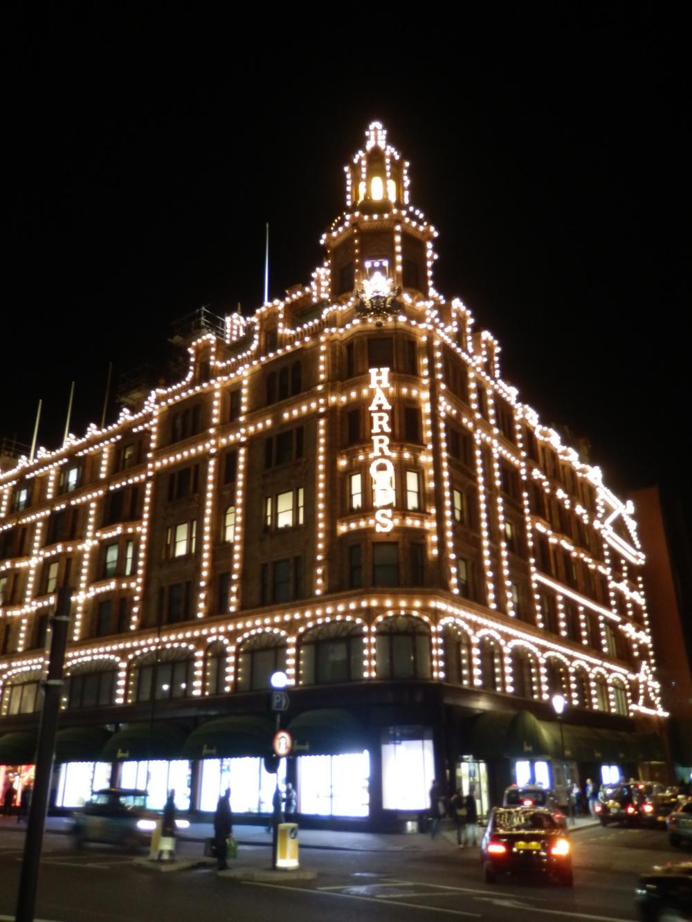 Harrods, London.
