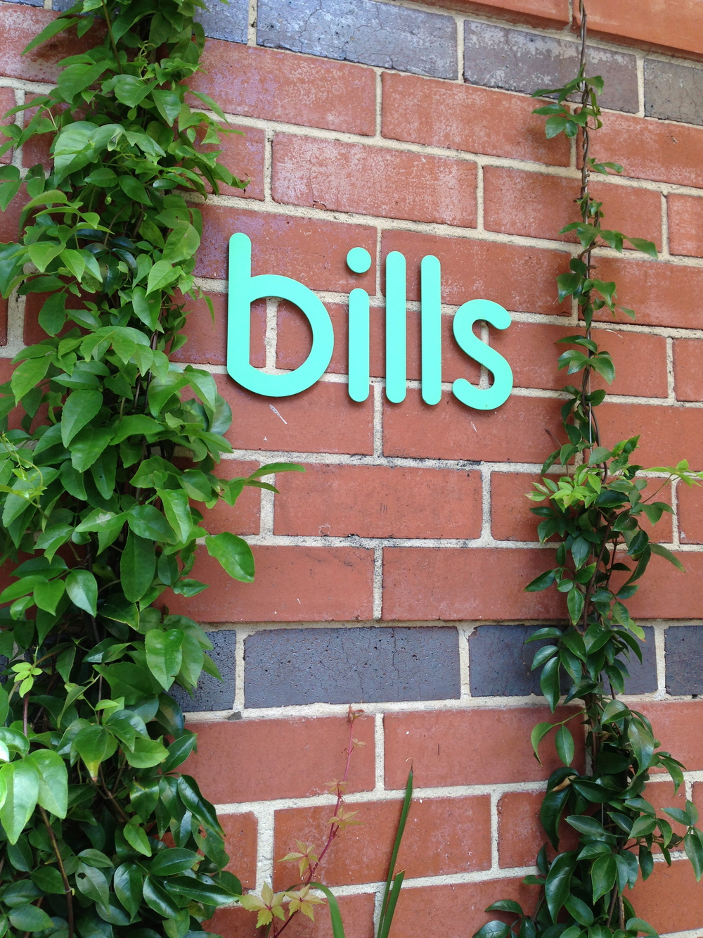 bills,  359 Crown St Surry Hills, Sydney.