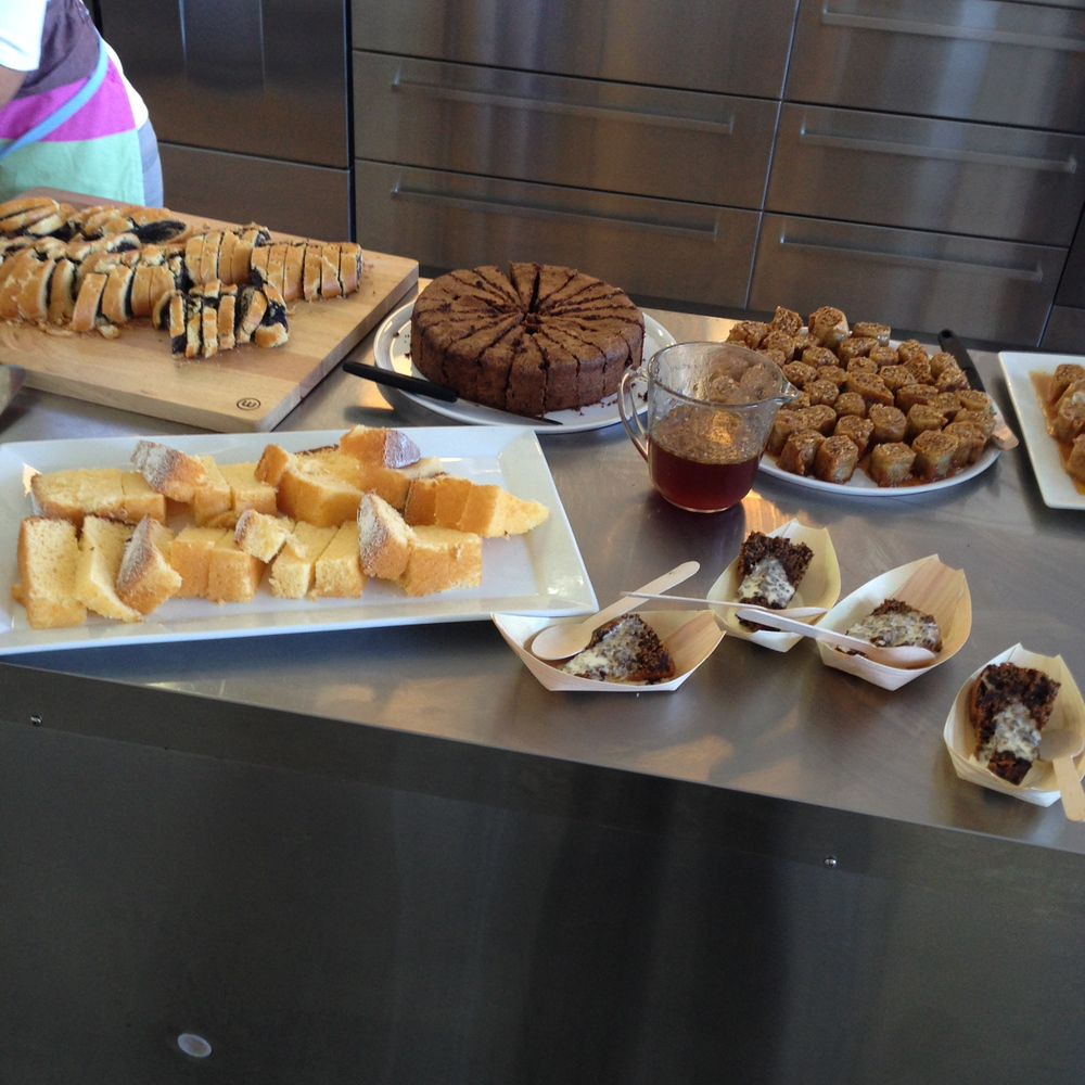 Cakes & Baked Goods from the Monday Morning Cooking Club event at BakeClub