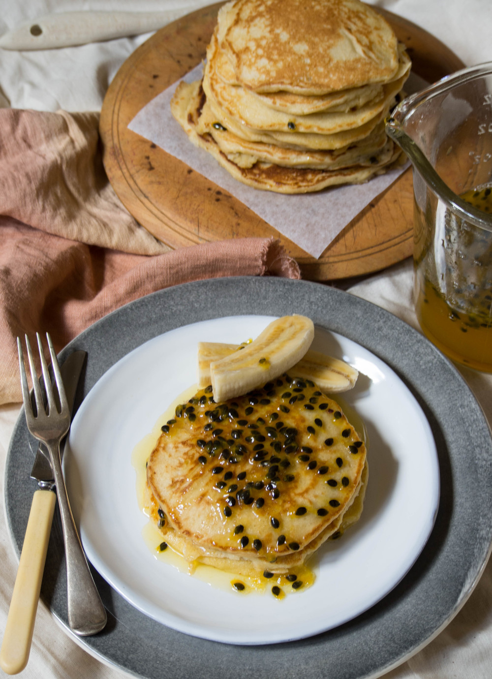 Passionfruit Pancakes 4 - Kulinary Adventures of Kath