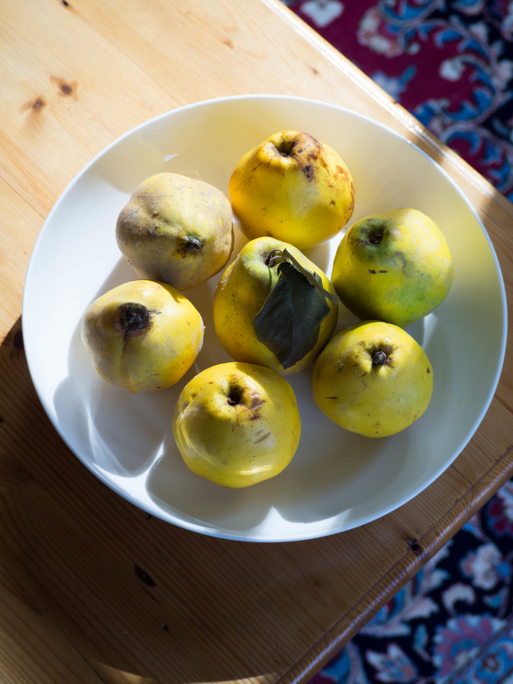 Quinces from the Agrestic Grocer
