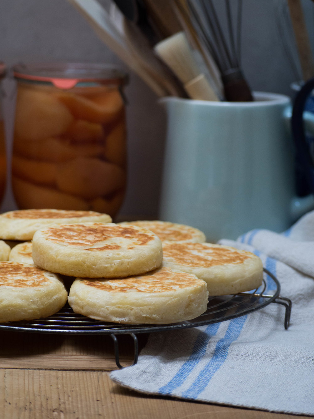 Homemade Buttermilk Crumpets Kulinary Adventures of Kath