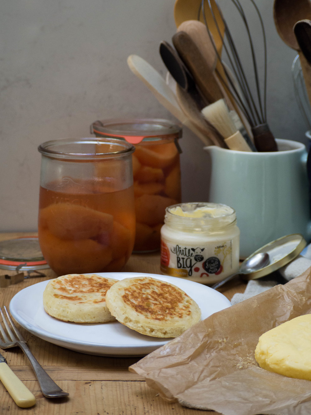 How to make Crumpets - Kulinary Adventures of Kath