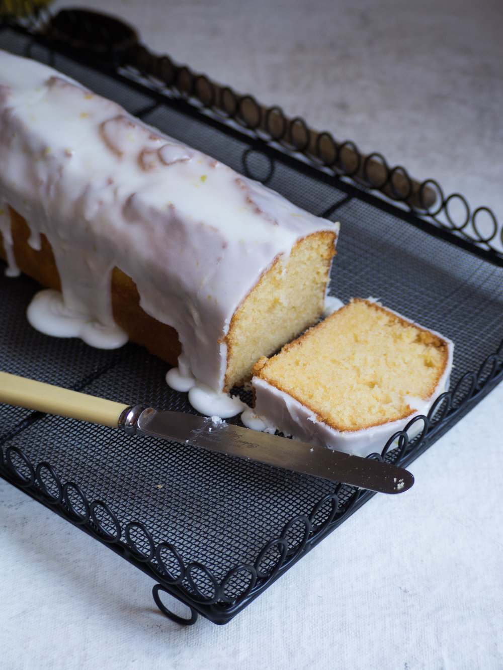 Bergamot Loaf Cake