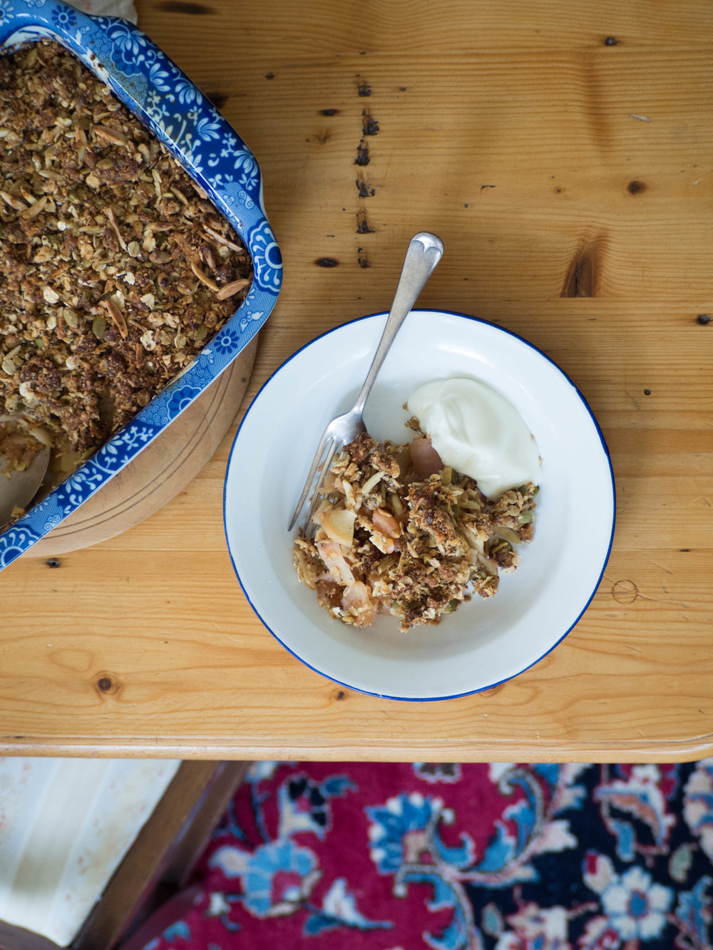 Muesli Breakfast Crumble